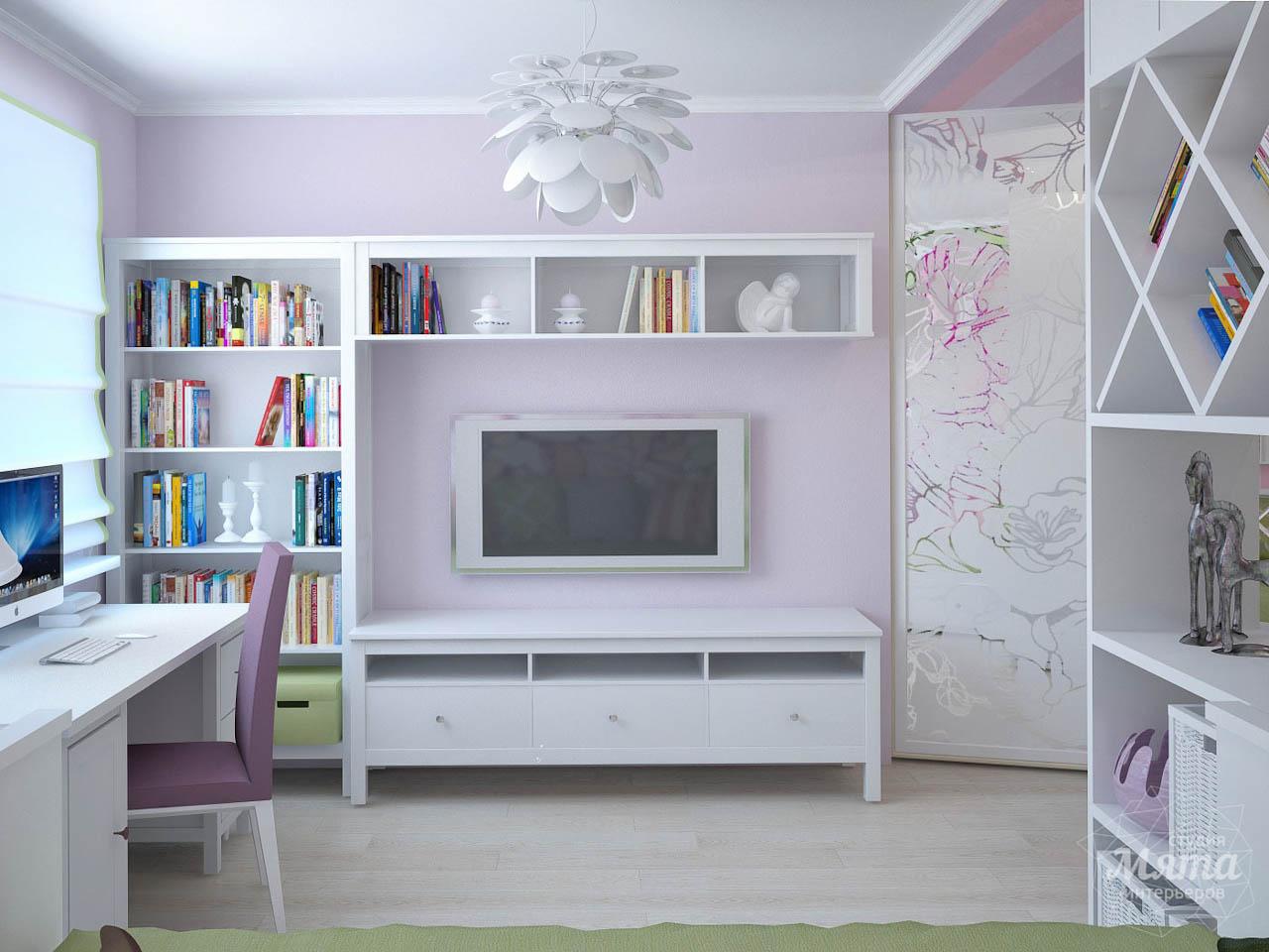 Дизайн интерьера и ремонт трехкомнатной квартиры по ул. Фучика 9 img496175833