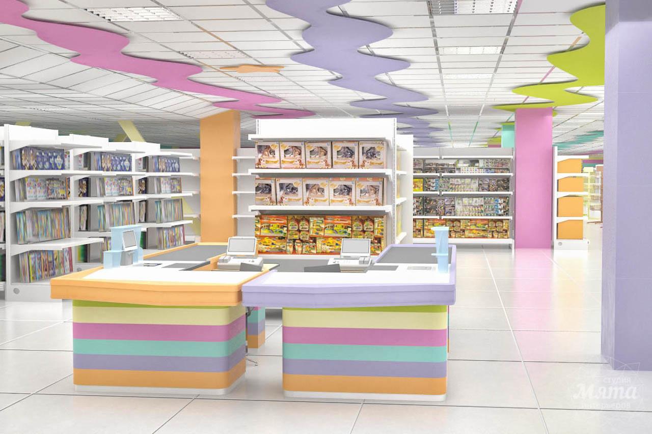 Дизайн интерьера и ремонт детского гипермаркета по ул. Щербакова 4 img565300782