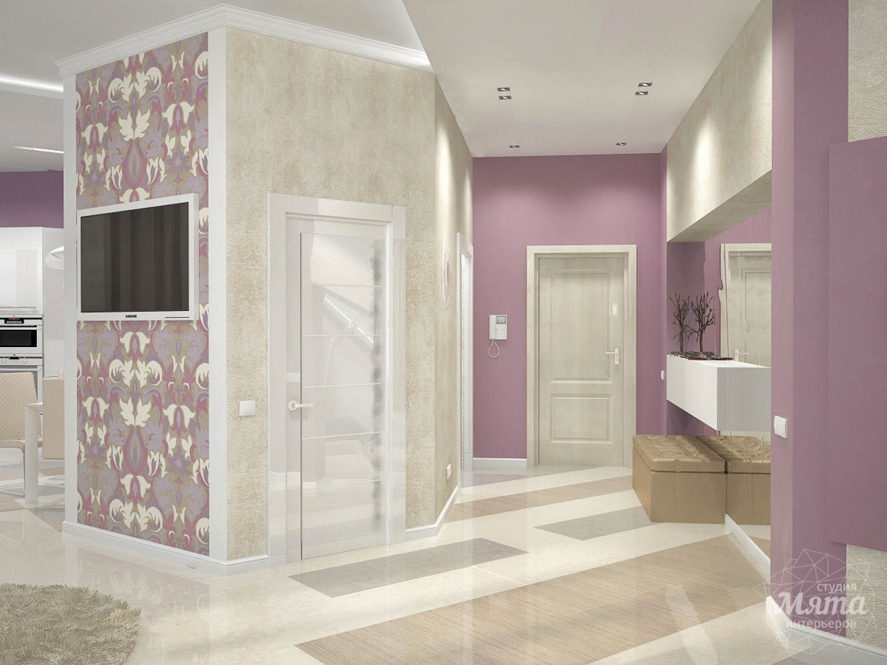 Дизайн интерьера и ремонт трехкомнатной квартиры по ул. Чкалова 124 img1057758407