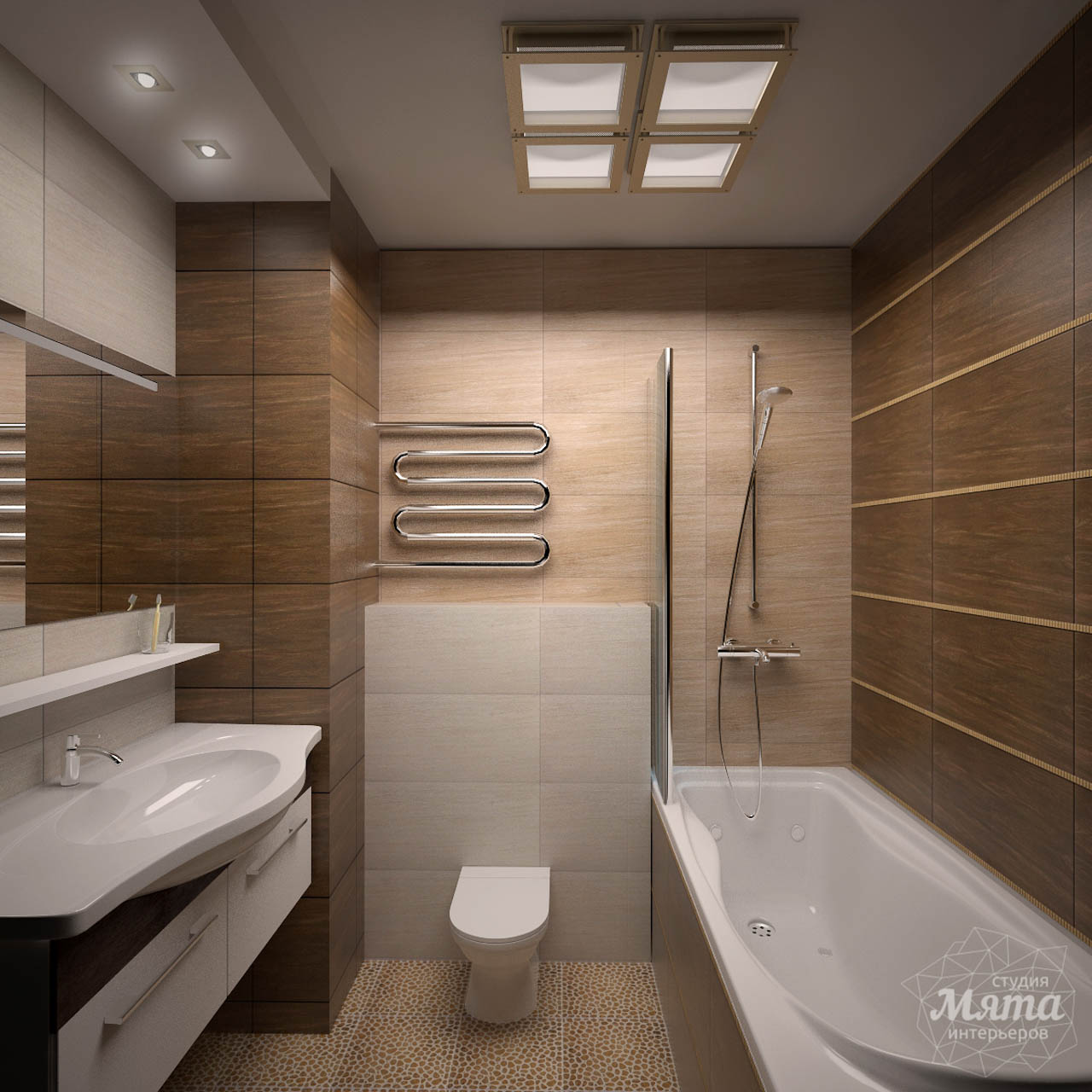 Дизайн интерьера двухкомнатной квартиры по ул. Комсомольская 14 img1825332400