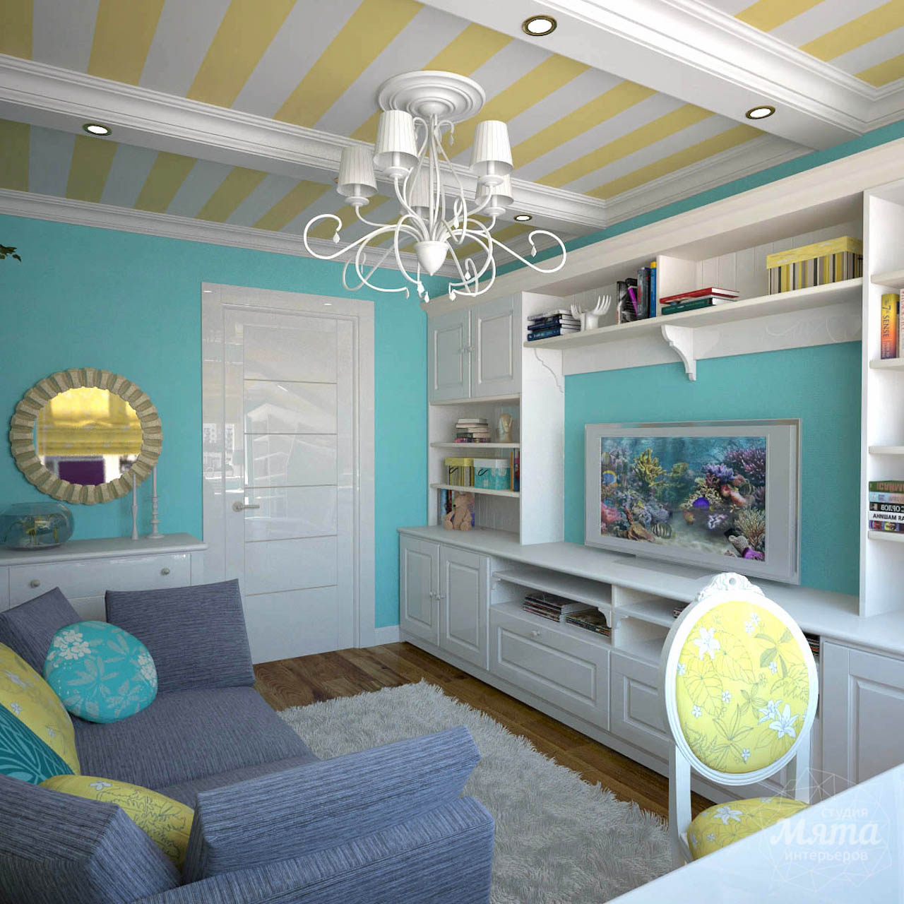 Дизайн интерьера двухкомнатной квартиры по ул. Комсомольская 14 img1711287617