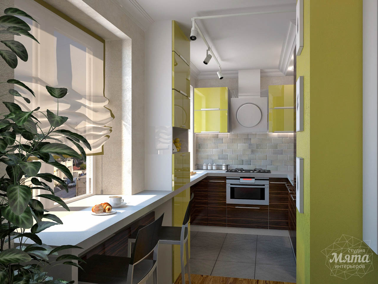 Дизайн интерьера двухкомнатной квартиры по ул. Комсомольская 14 img313097150
