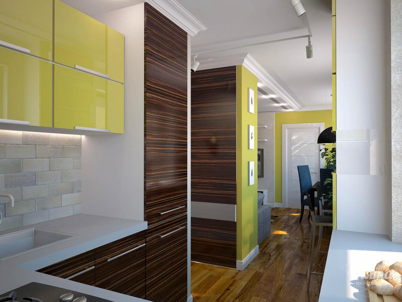Дизайн интерьера двухкомнатной квартиры по ул. Комсомольская 14 img1941976420