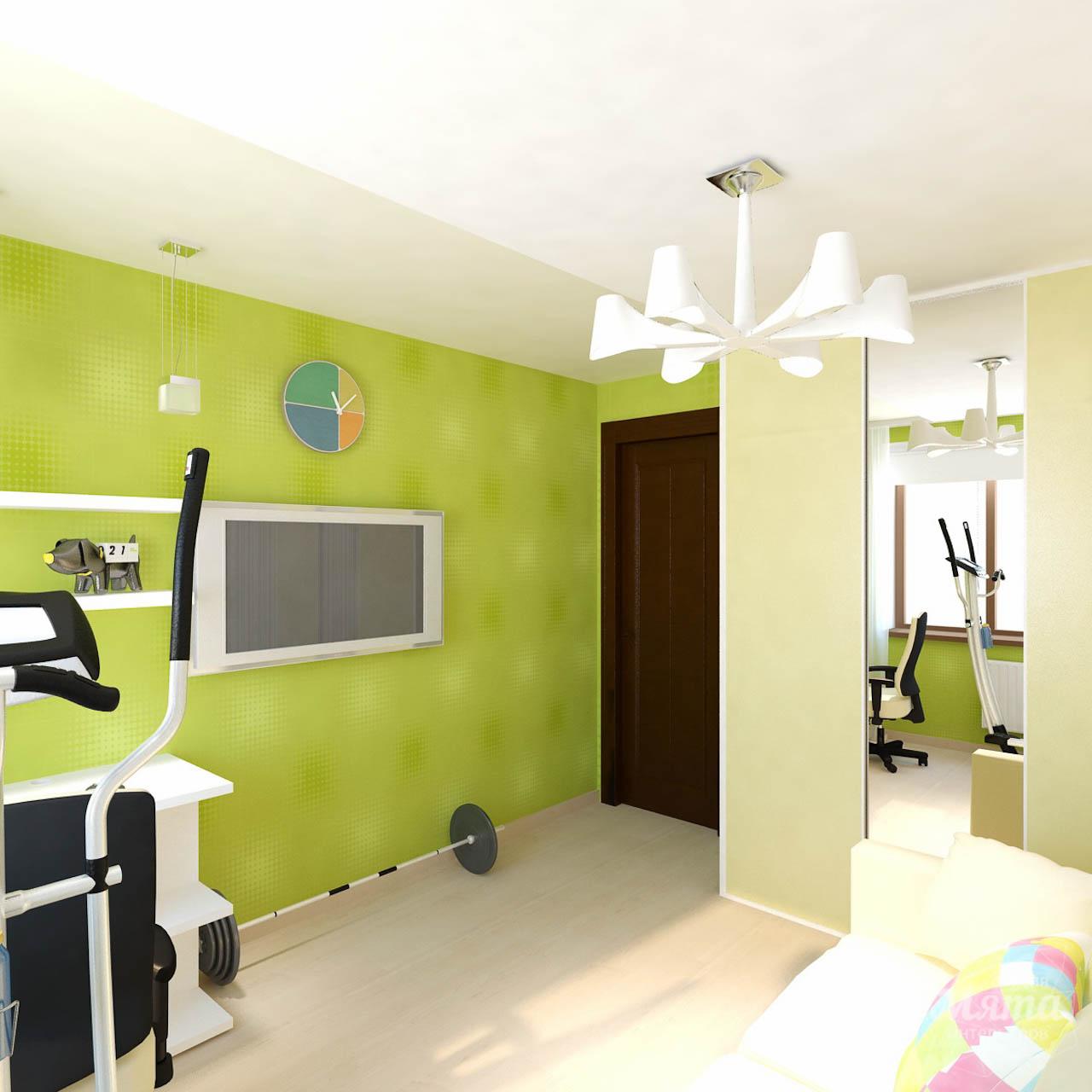 Дизайн интерьера двухкомнатной квартиры по ул. Бебеля 156 img100309225