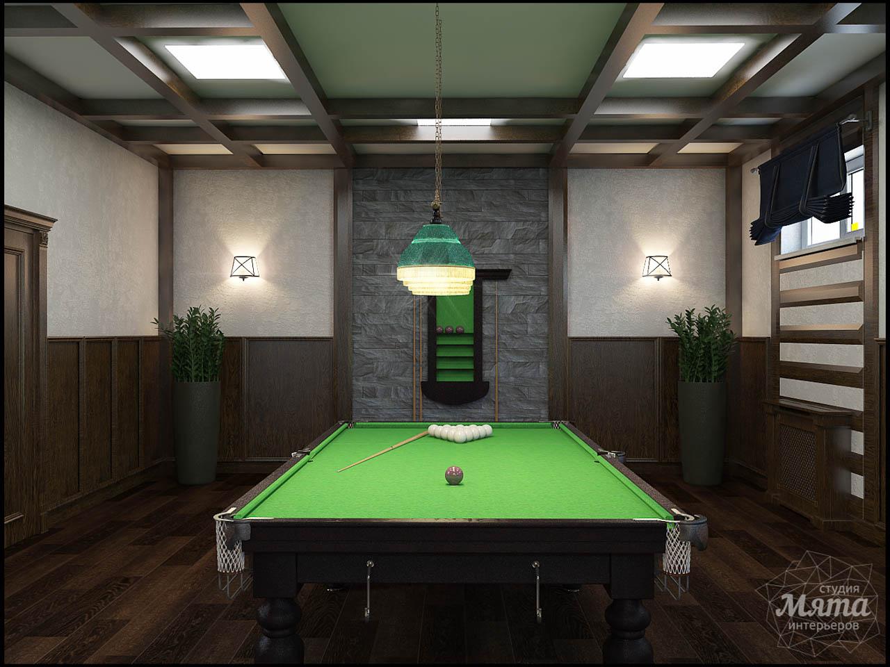 Дизайн интерьера бильярдной в п. Балтым img867136441