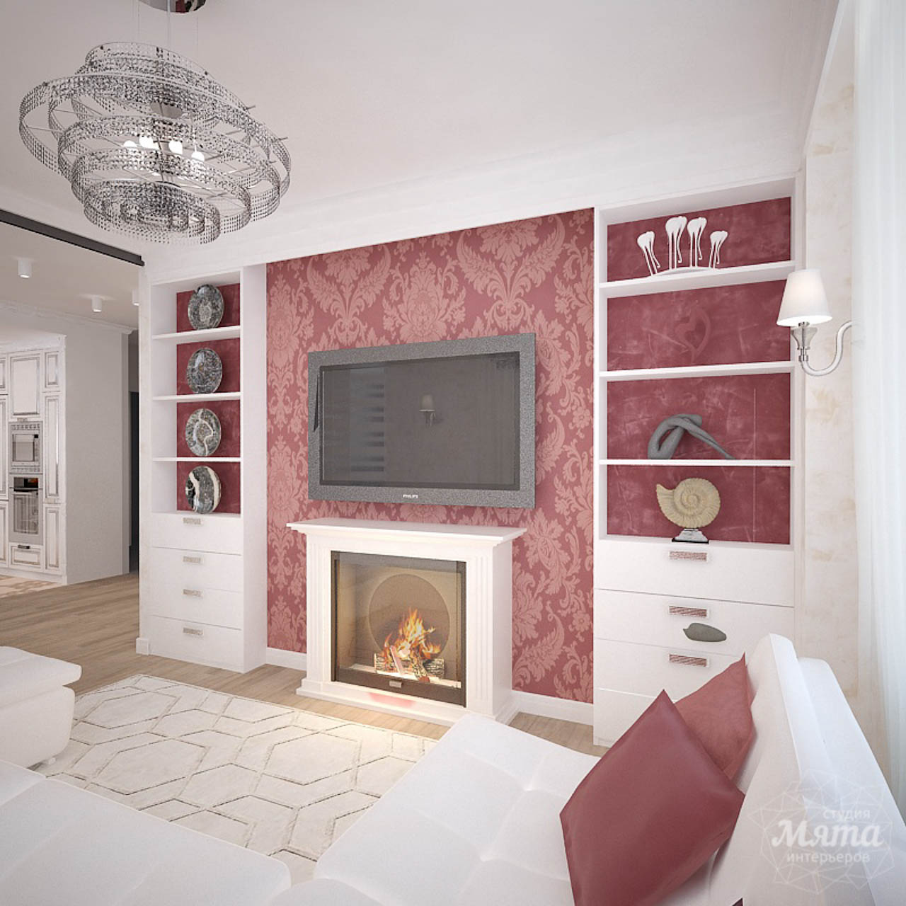 Дизайн интерьера четырехкомнатной квартиры по ул. Шевченко 18 img1535693113