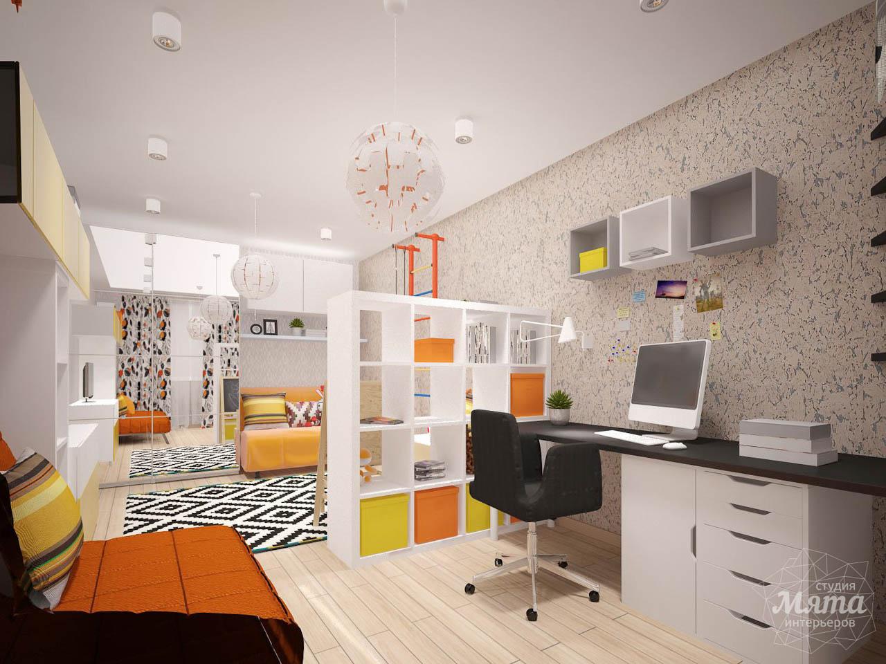 Дизайн интерьера однокомнатной квартиры в современном стиле по ул. Агрономическая 47 img1986834698