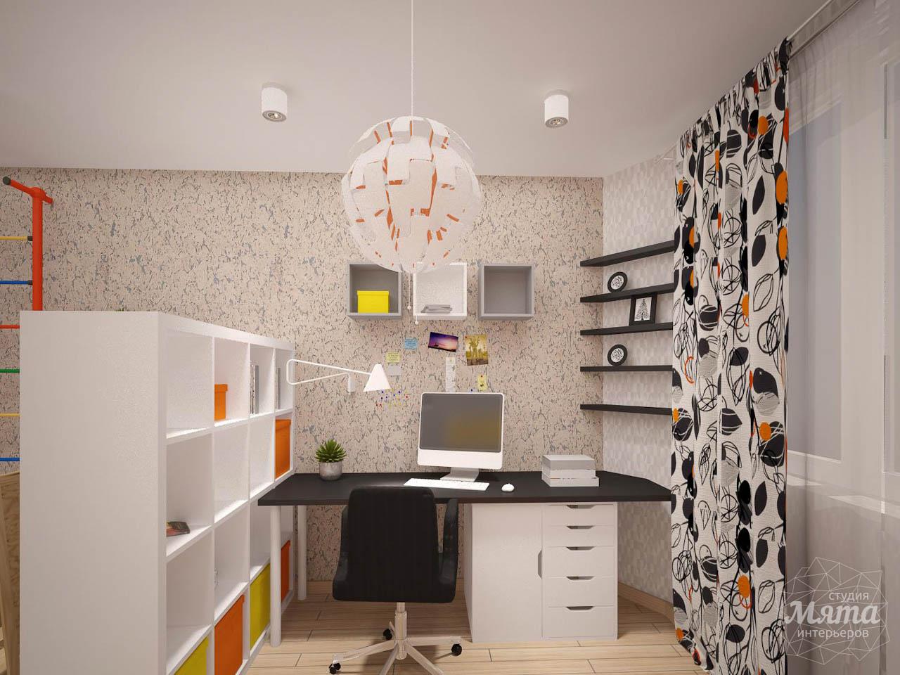 Дизайн интерьера однокомнатной квартиры в современном стиле по ул. Агрономическая 47 img818536714