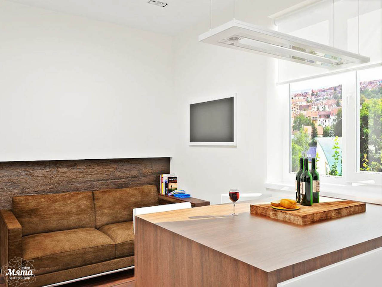 Дизайн интерьера однокомнатной квартиры в стиле хай тек по ул. Щербакова 35 img1331000515