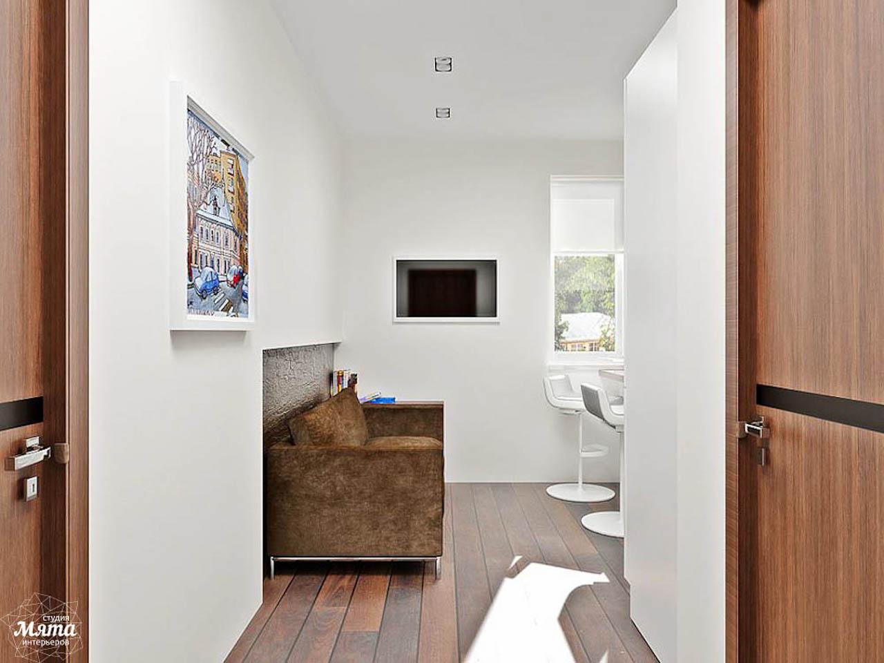 Дизайн интерьера однокомнатной квартиры в стиле хай тек по ул. Щербакова 35 img1050558010