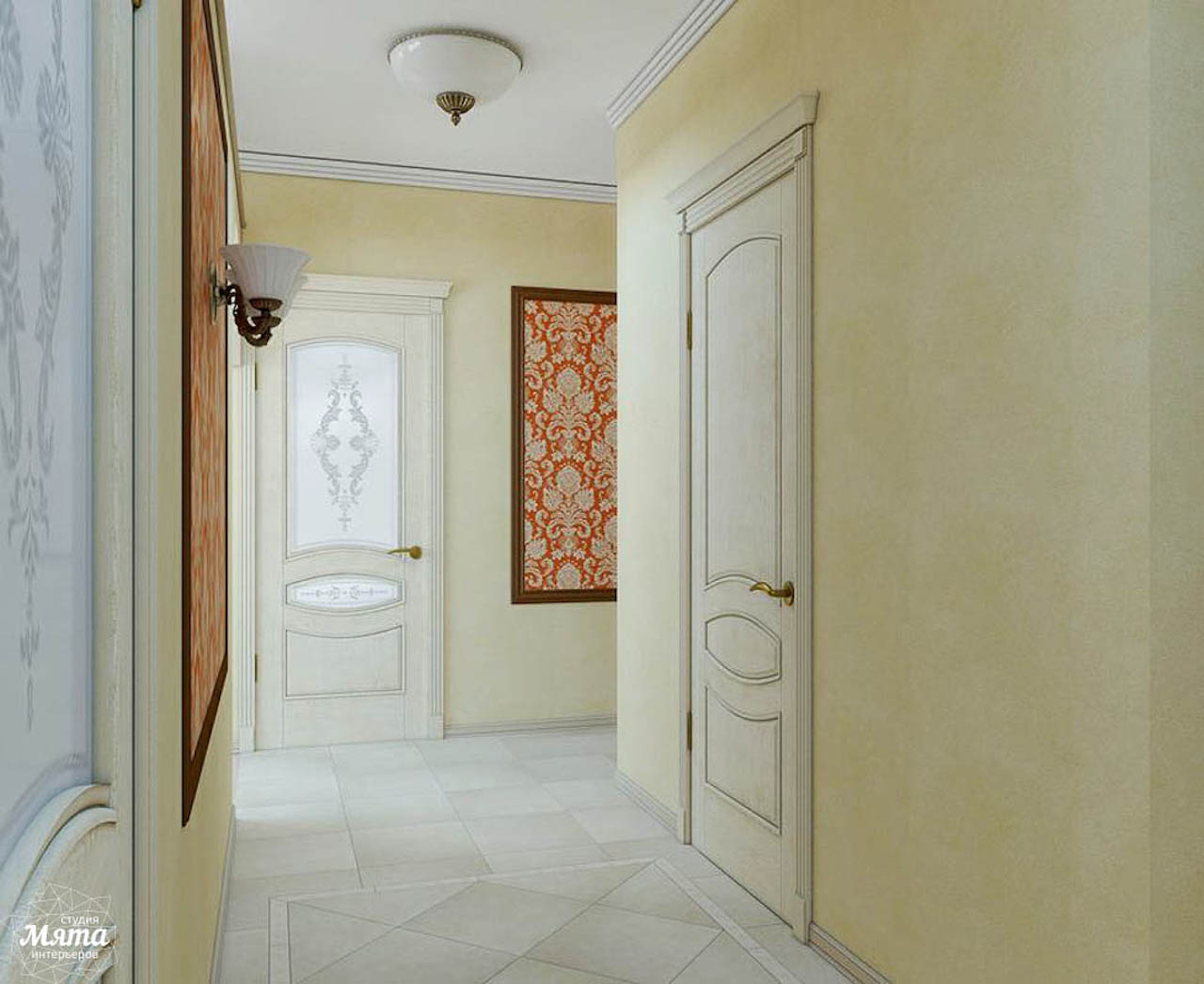Дизайн интерьера коттеджа в п. Верхнее Дуброво img1385167382