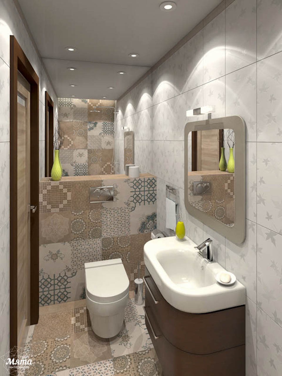 Дизайн интерьера коттеджа в п. В. Сысерть  img979208176