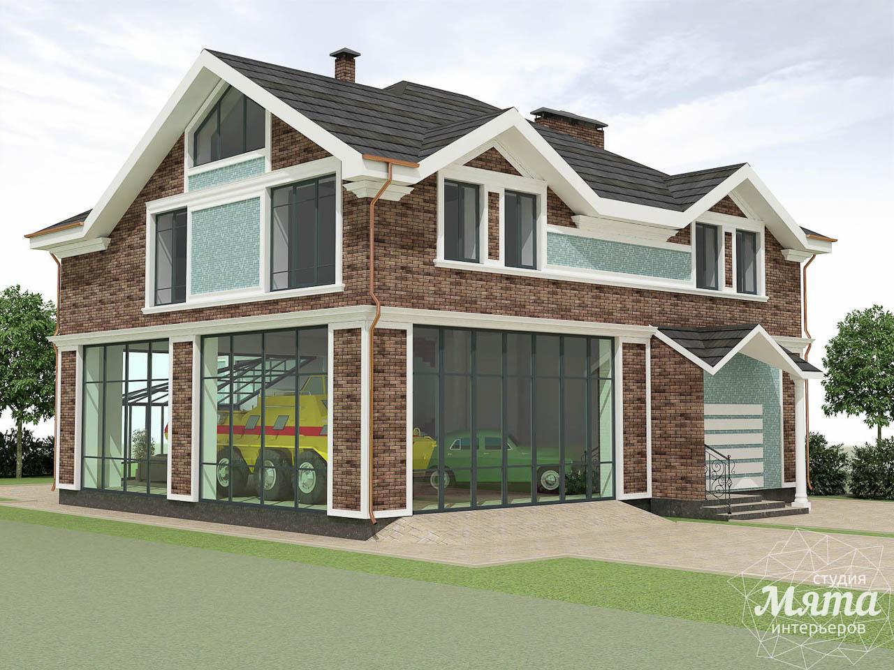 Дизайн фасада коттеджа в п. Палникс img174128560