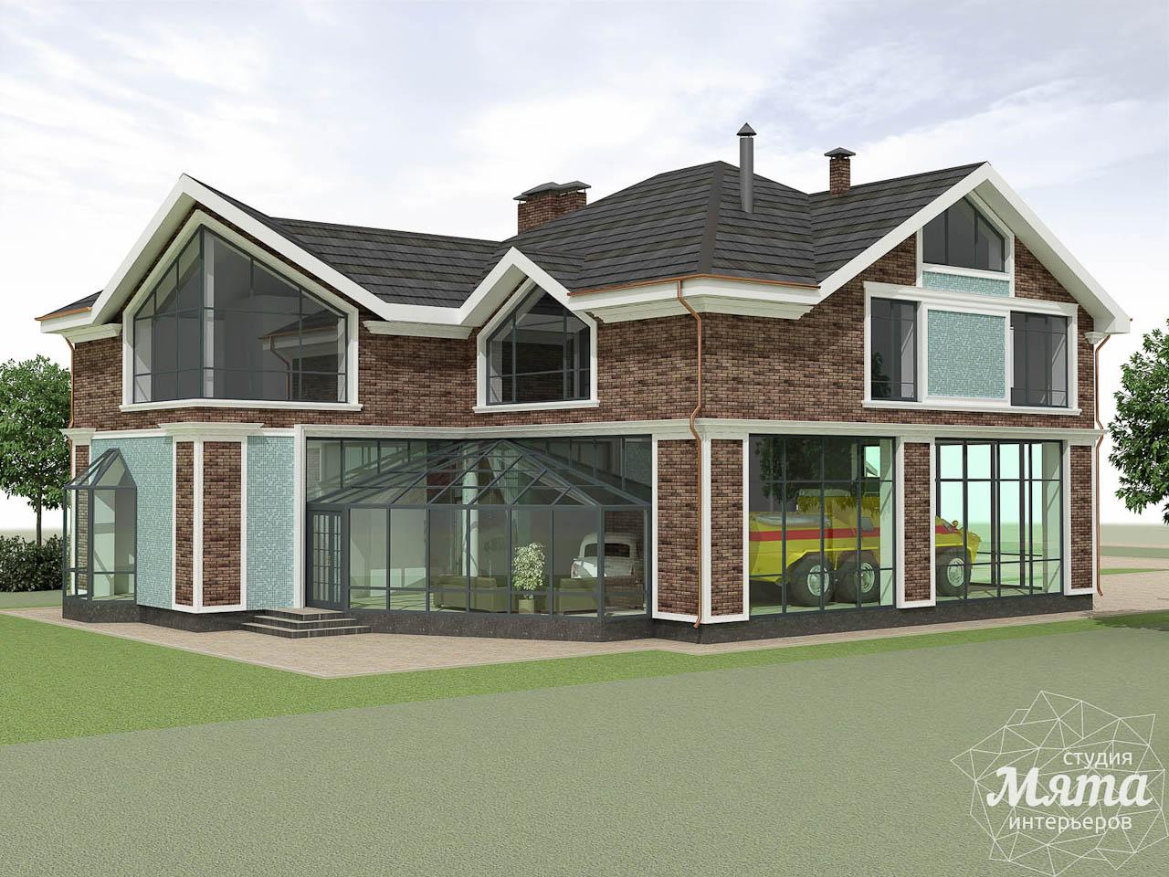 Дизайн фасада коттеджа в п. Палникс img1235315632
