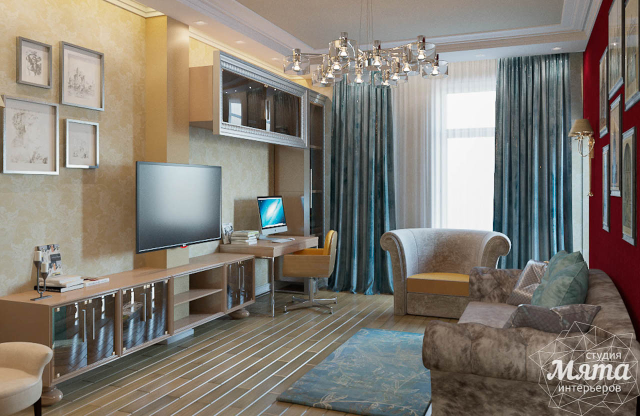Дизайн интерьера и ремонт трехкомнатной квартиры в Карасьозерском 2 img1218532322