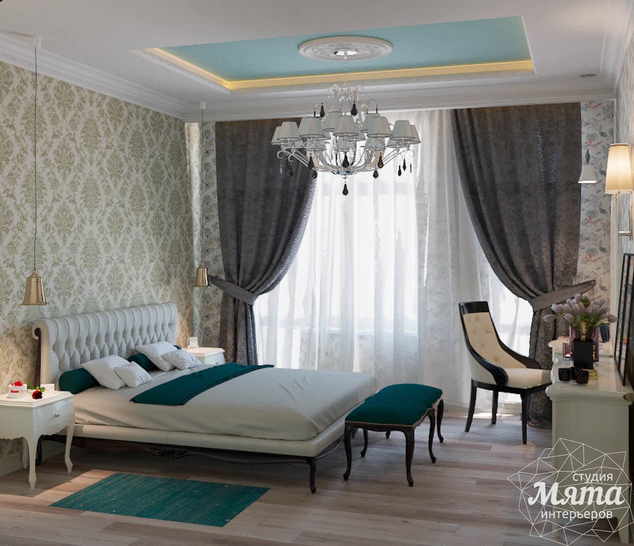 Дизайн интерьера и ремонт трехкомнатной квартиры в Карасьозерском 2 img1781243521