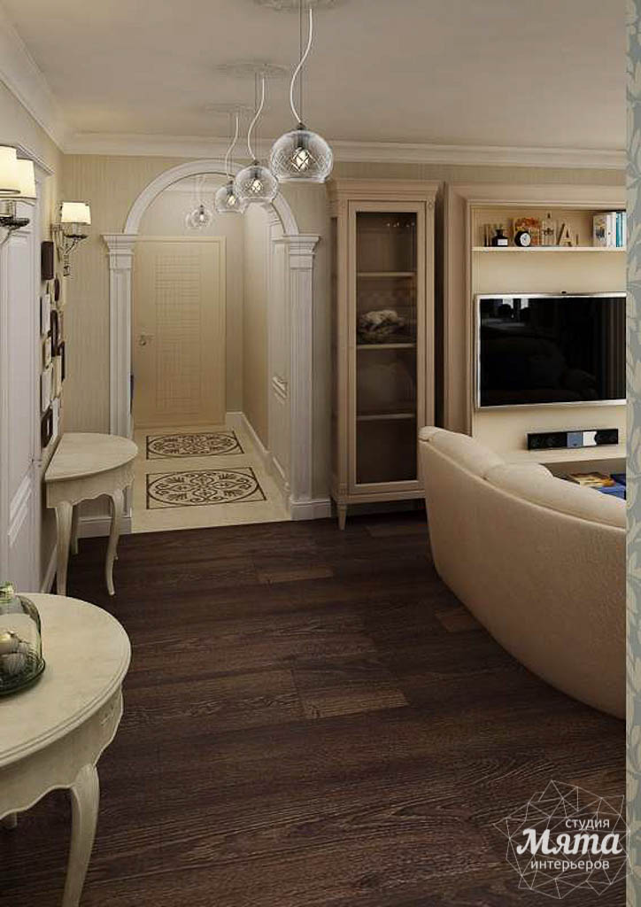 Дизайн интерьера однокомнатной квартиры по ул. Юмашева 10 img441674866