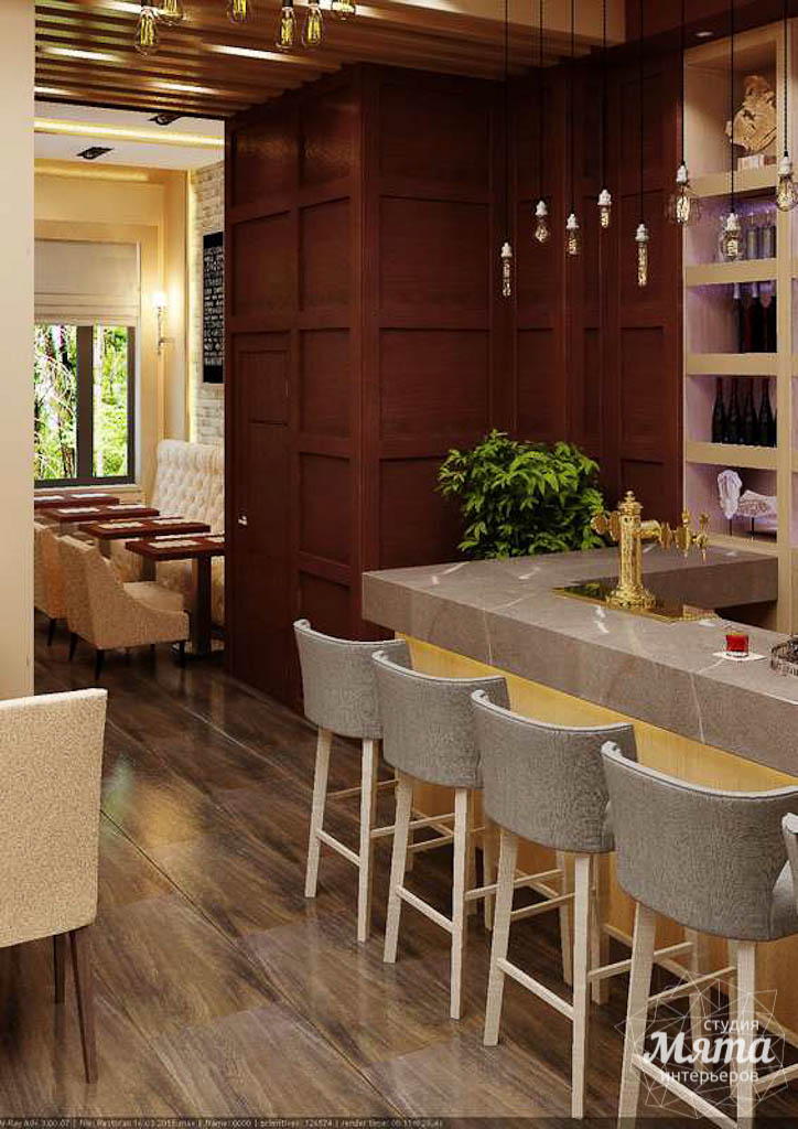 Дизайн интерьера кафе по ул. Малышева 12 img90651775