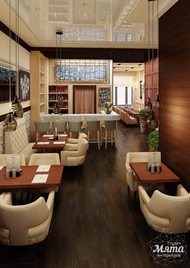 Дизайн интерьера кафе по ул. Малышева 12 img1886553320