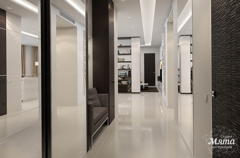 Дизайн интерьера трехкомнатной квартиры по ул. Белинского 86 img1386952084