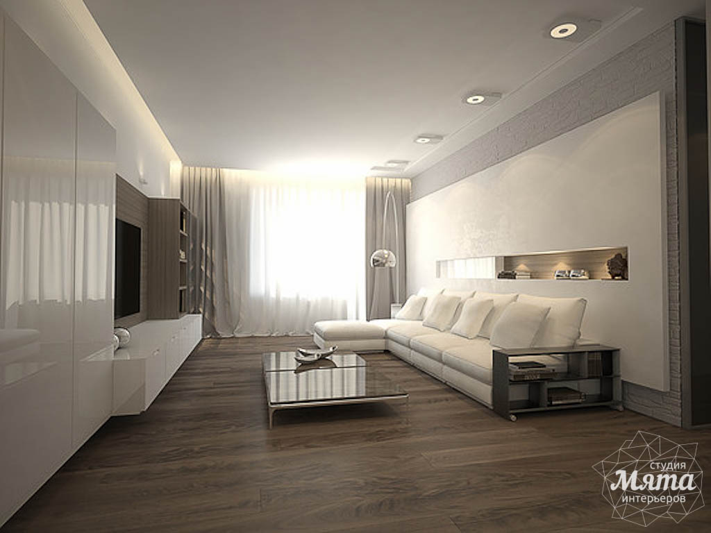 Дизайн интерьера трехкомнатной квартиры по ул. Юмашева 8 img235015054