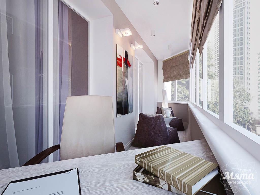 Дизайн интерьера двухкомнатной квартиры по ул. Малышева 38 img1974161355