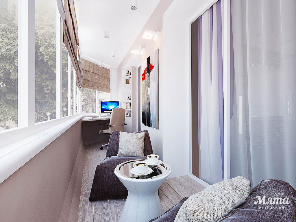 Дизайн интерьера двухкомнатной квартиры по ул. Малышева 38 img1881499335