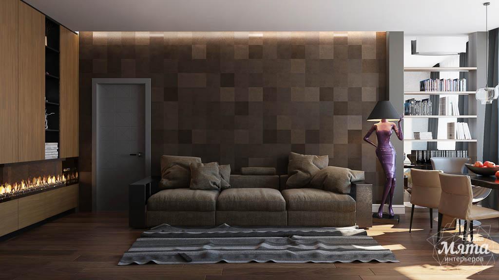 Дизайн интерьера двухкомнатной квартиры по ул. Юмашева 9 img777478859