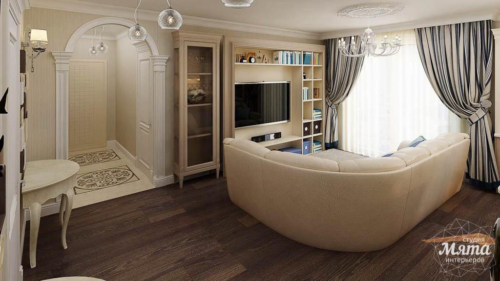 Дизайн интерьера однокомнатной квартиры по ул. Юмашева 10 img871630649