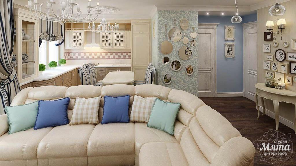 Дизайн интерьера однокомнатной квартиры по ул. Юмашева 10 img1870072671
