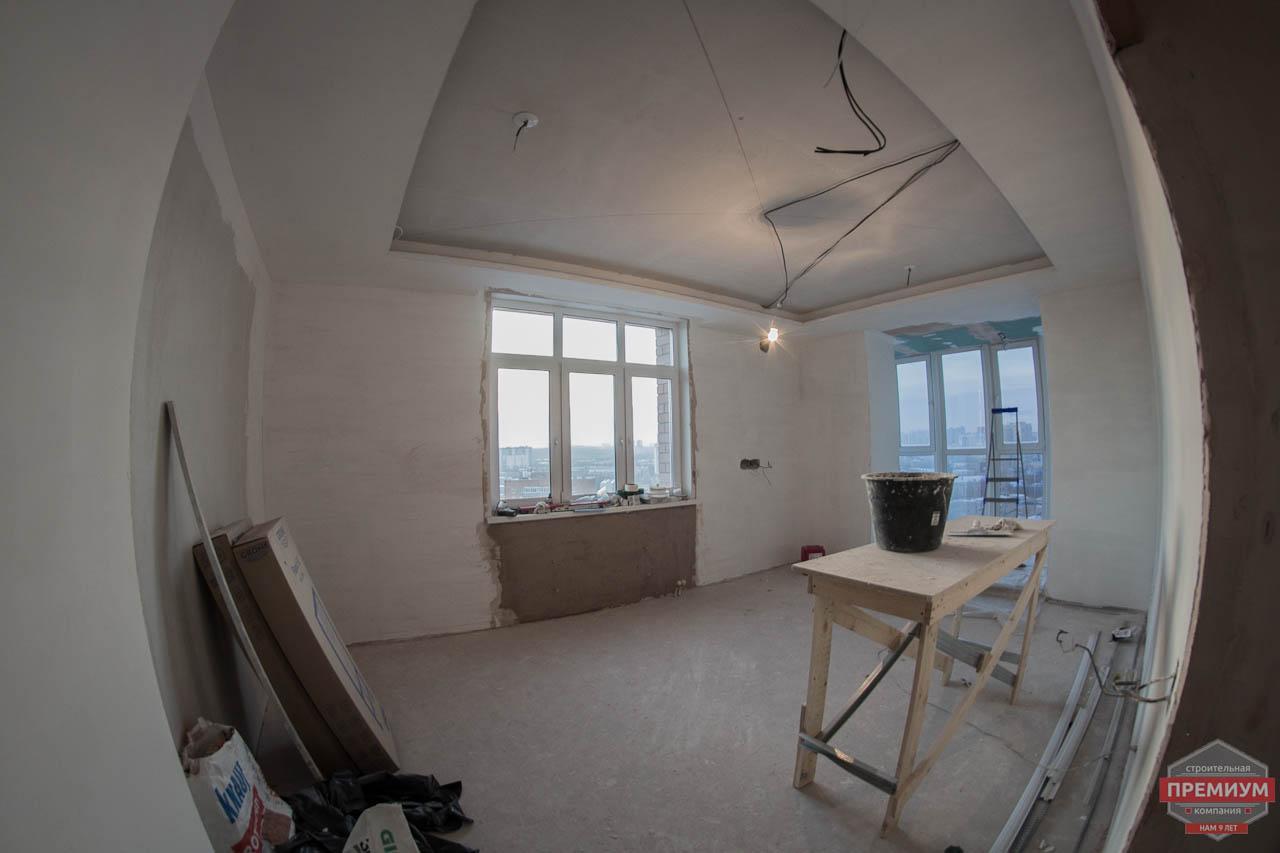 Дизайн интерьера  и ремонт трехкомнатной квартиры по ул. Машинная 44 21