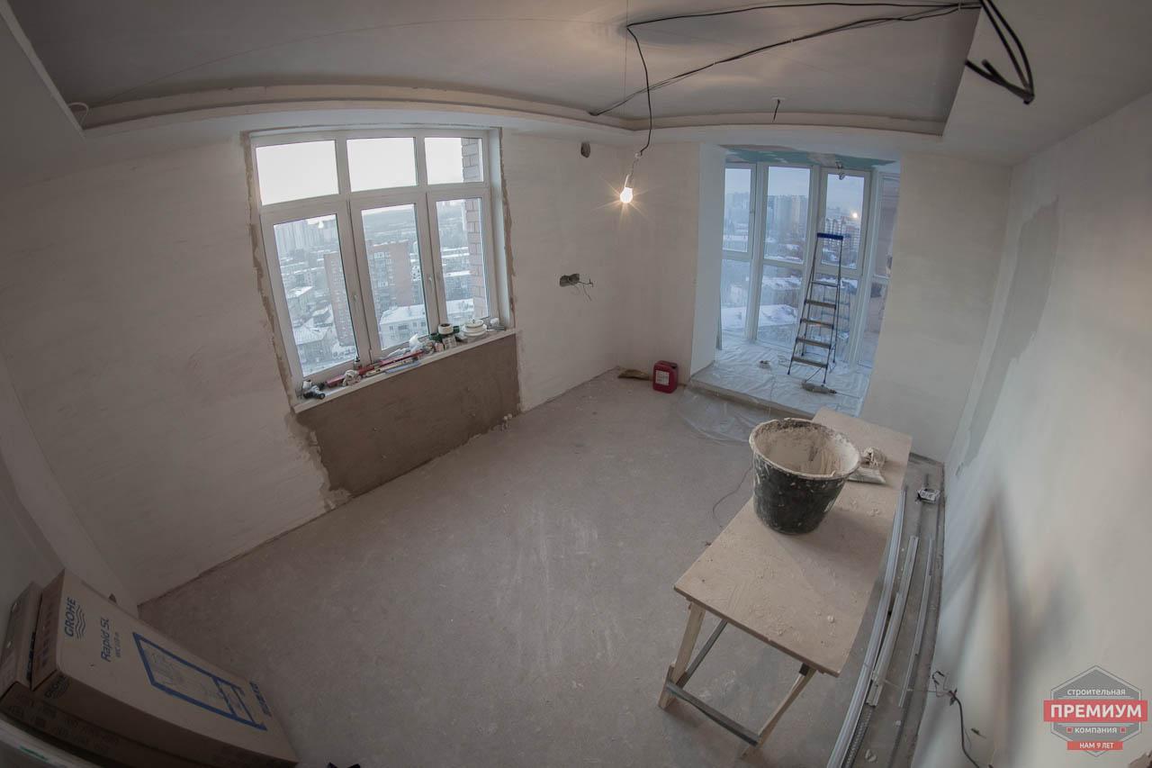Дизайн интерьера  и ремонт трехкомнатной квартиры по ул. Машинная 44 23