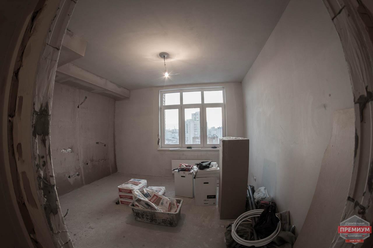 Дизайн интерьера  и ремонт трехкомнатной квартиры по ул. Машинная 44 25
