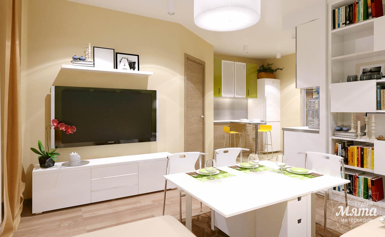 Дизайн интерьера двухкомнатной квартиры по ул. Машинная 40 img741452414