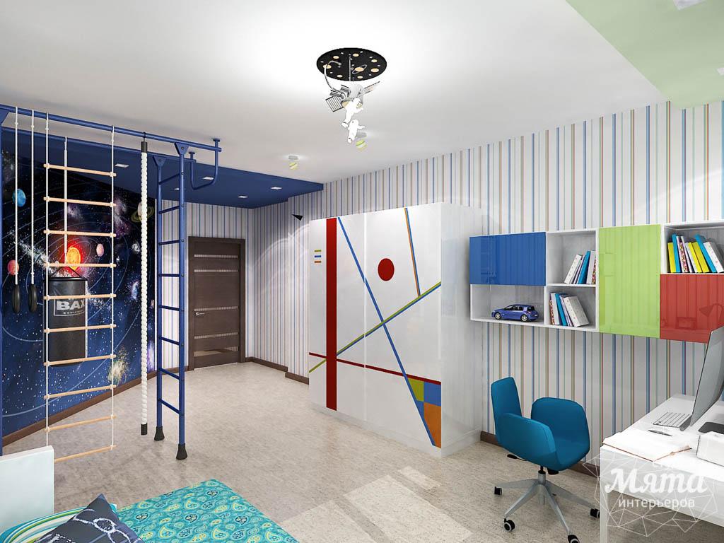 Дизайн интерьера и ремонт трехкомнатной квартиры по ул. Авиационная, 16  img2100581875