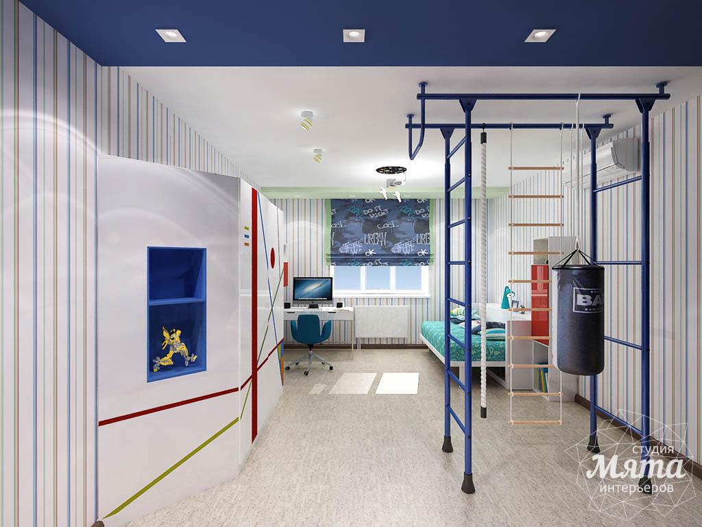 Дизайн интерьера и ремонт трехкомнатной квартиры по ул. Авиационная, 16  img1973856130