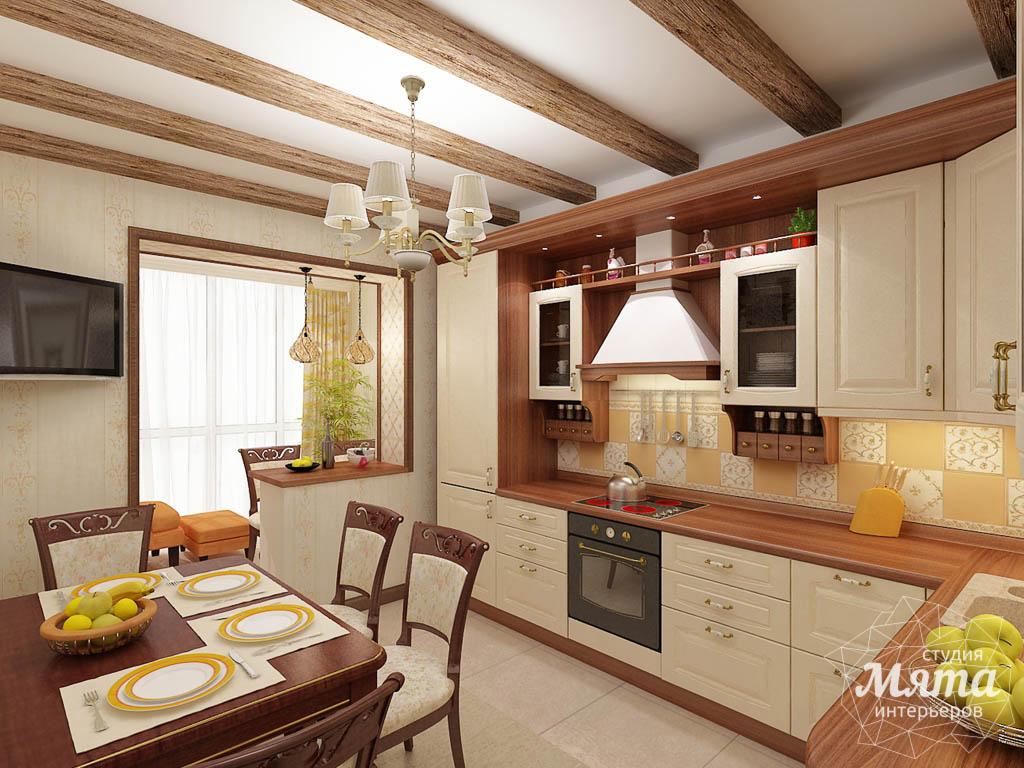 Дизайн интерьера и ремонт трехкомнатной квартиры по ул. Авиационная, 16  img1960029985