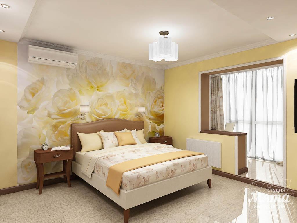 Дизайн интерьера и ремонт трехкомнатной квартиры по ул. Авиационная, 16  img574575329