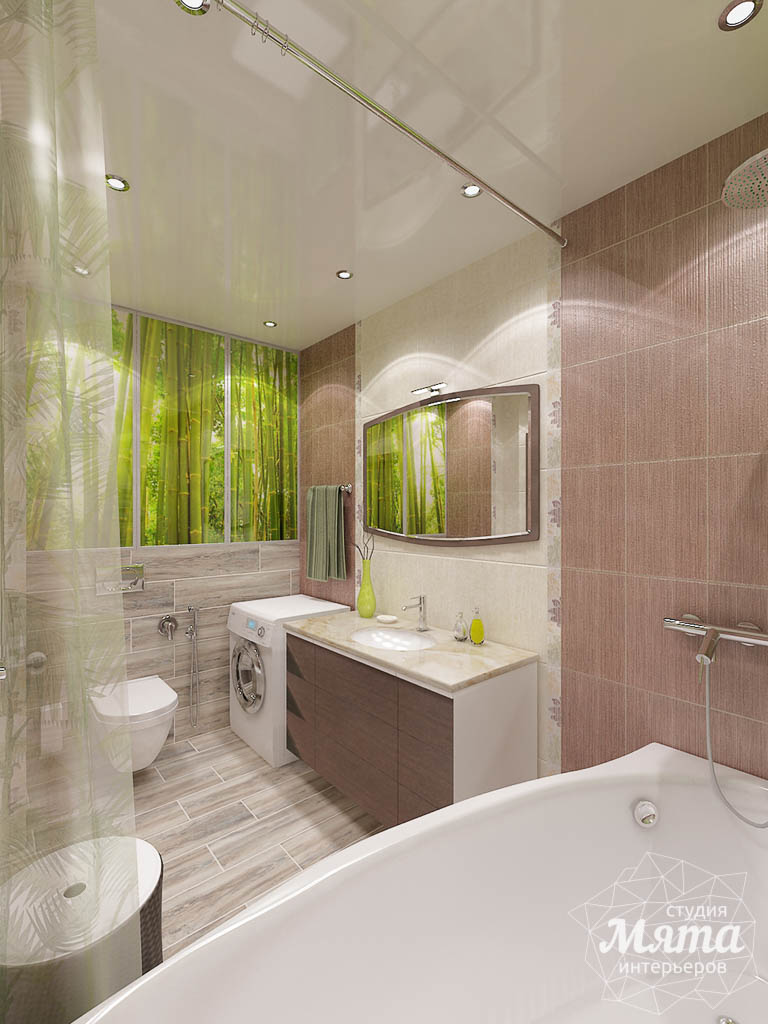 Дизайн интерьера и ремонт трехкомнатной квартиры по ул. Авиационная, 16  img1780315740