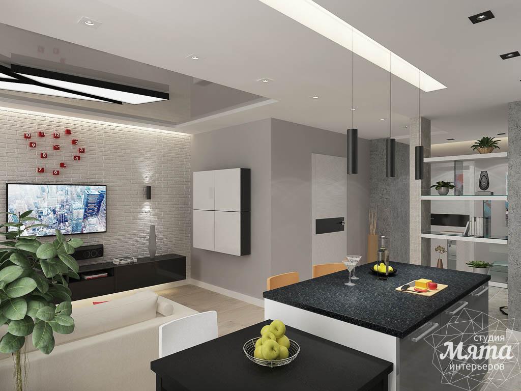 Дизайн интерьера двухкомнатной квартиры в ЖК Крылов img741231928