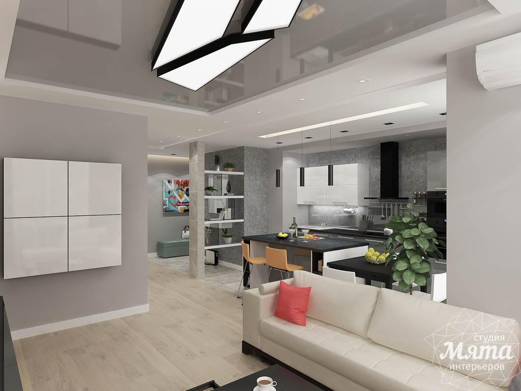 Дизайн интерьера двухкомнатной квартиры в ЖК Крылов img692584626