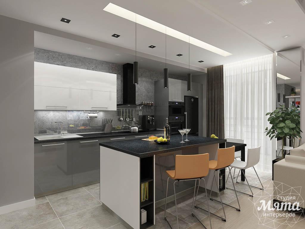 Дизайн интерьера двухкомнатной квартиры в ЖК Крылов img5157547