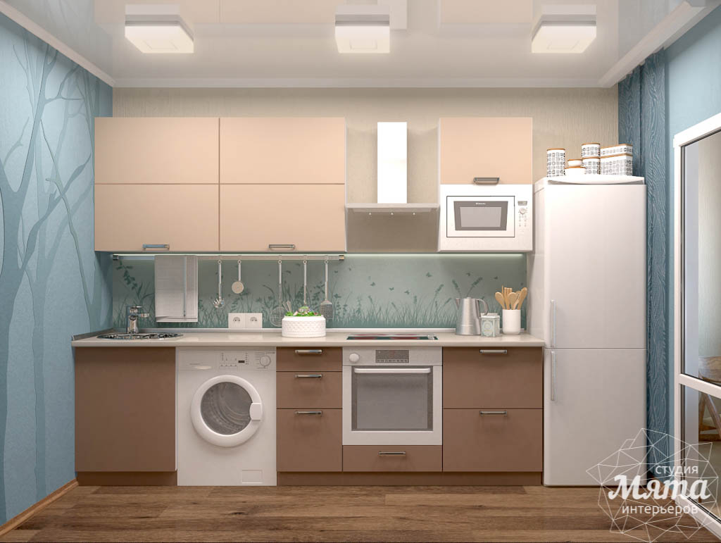 Дизайн интерьера однокомнатной квартиры по ул. Соболева 19 img1009983991