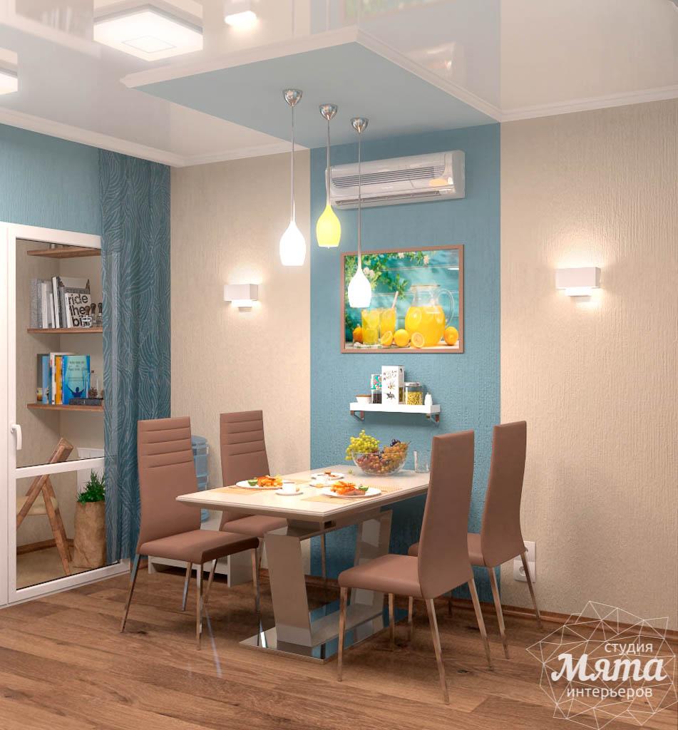 Дизайн интерьера однокомнатной квартиры по ул. Соболева 19 img2087045878