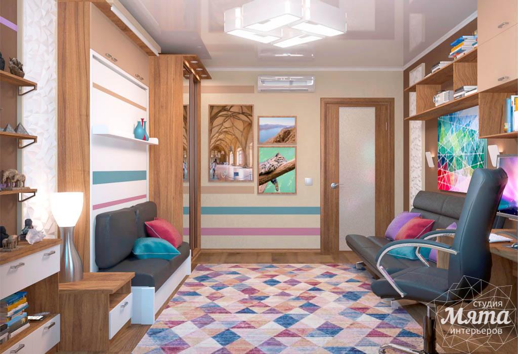 Дизайн интерьера однокомнатной квартиры по ул. Соболева 19 img854313242
