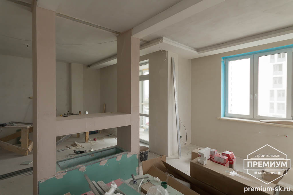Дизайн интерьера и ремонт трехкомнатной квартиры по ул. Татищева 49 66