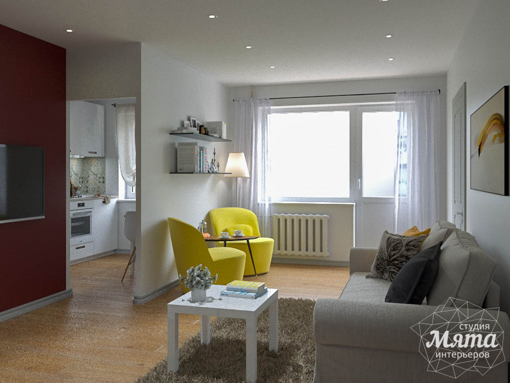 Дизайн интерьера двухкомнатной квартиры по ул. Мира 37а img1761460455