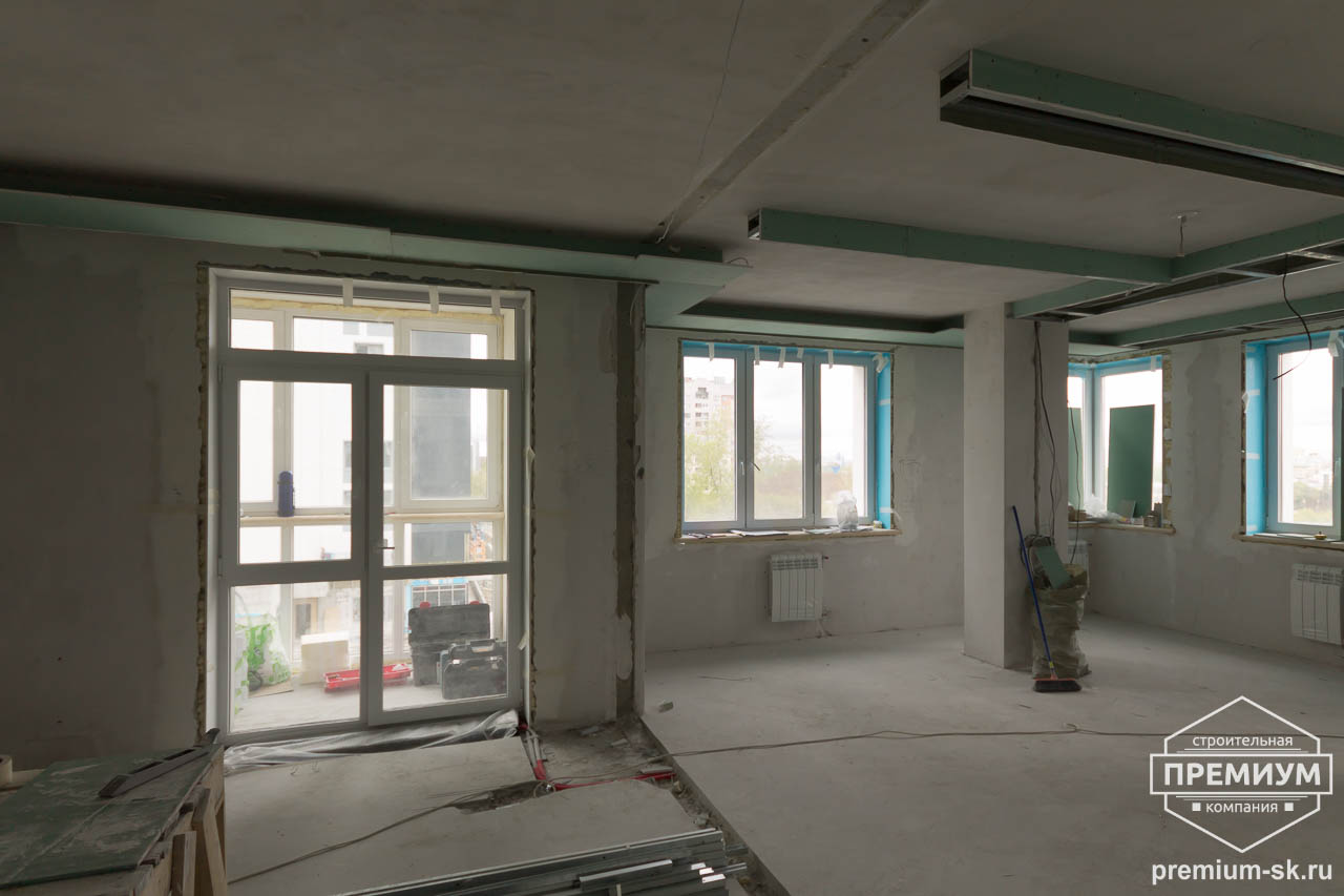Дизайн интерьера и ремонт трехкомнатной квартиры по ул. Татищева 49 64