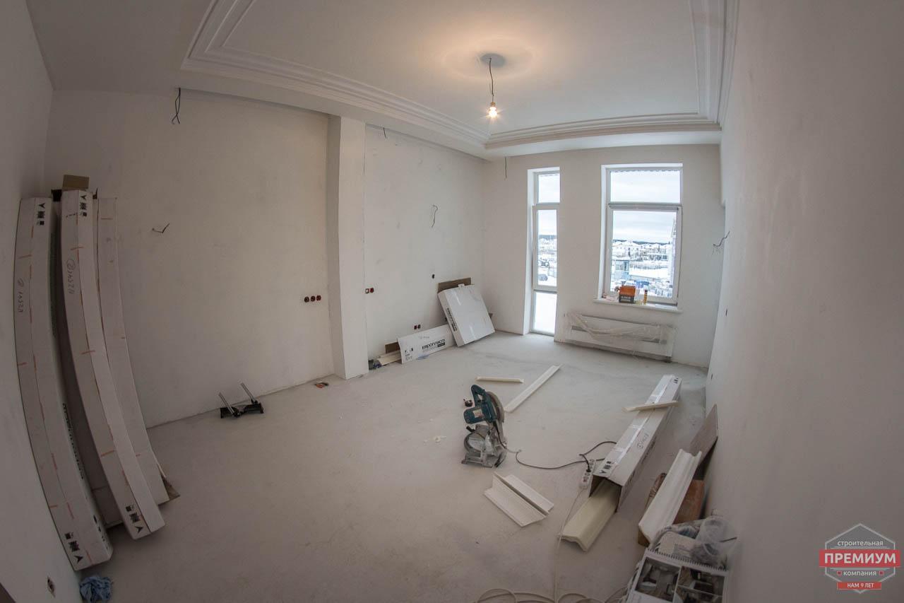 Дизайн интерьера и ремонт трехкомнатной квартиры в Карасьозерском 2 27