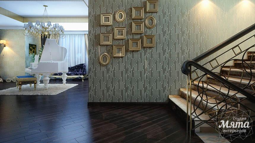 Дизайн интерьера коттеджа в Новосибирске  img1139367004
